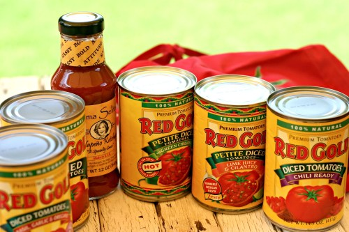Red Gold Tomato Cans