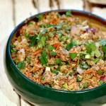 How to make Quinoa fried rice
