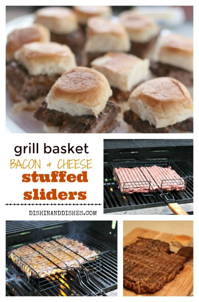 grill basket slider recipe