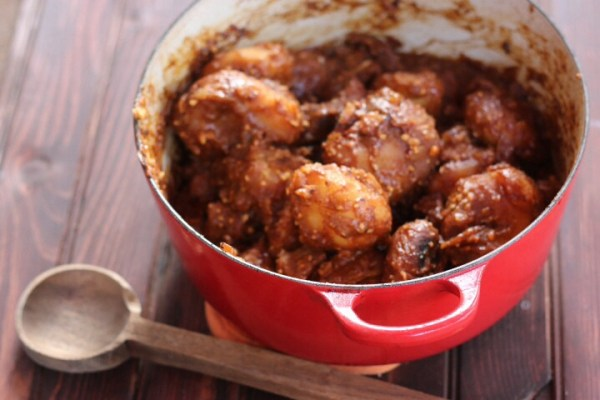 Peruvian meat and potato stew