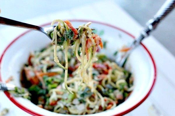 Thai Tangled Rainbow Salad