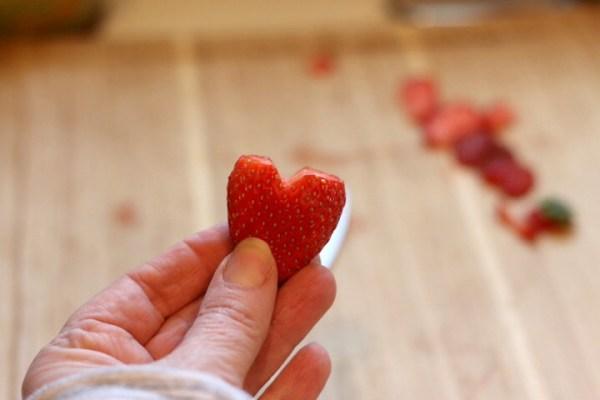 strawberry hearts
