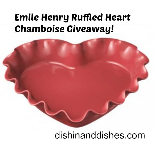 emile-henry-heart-ruffled-framboise Giveaway
