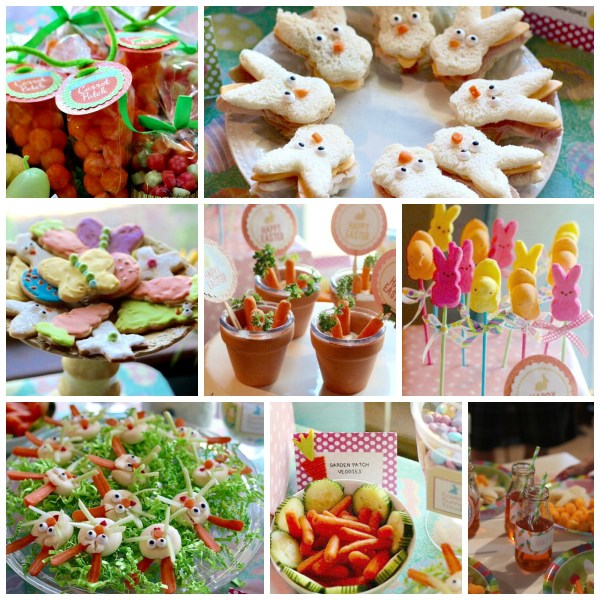 Easter Egg Hunt Kids food