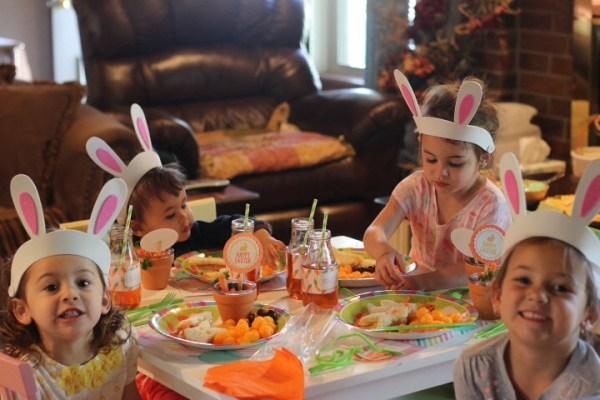 Kids easter egg hunt party