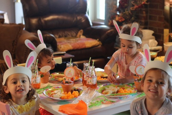 Kids easter egg hunt party