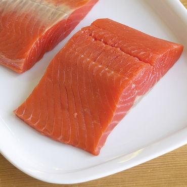 Coho salmon filet