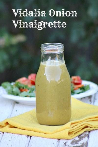 How to make Vidalia Onion Vinaigrette