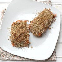 Pecan Crusted Steelhead Trout (or Salmon)