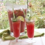 Watermelon Jalapeno Agua Fresca (Aguas Frescas)