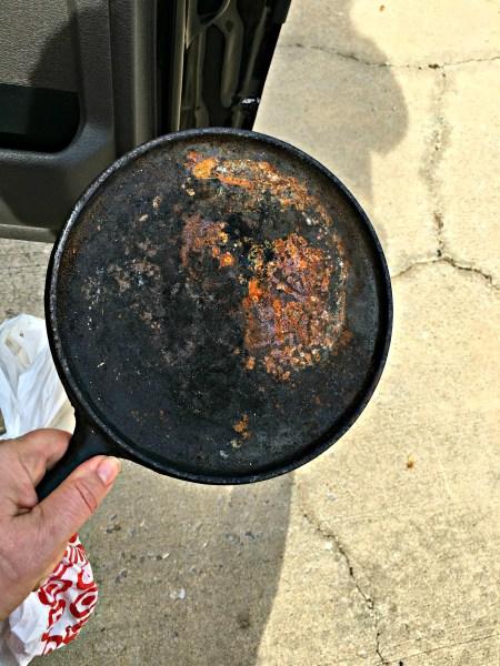 how to restore cast iron pots pans