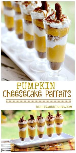 pumpkin cheesecake parfaits recipe