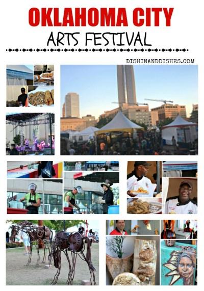 Oklahoma City Arts Festival - Dishin & Dishes