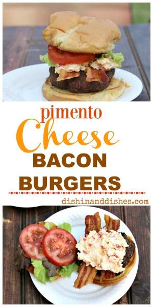 Pimento Cheese Bacon Burger