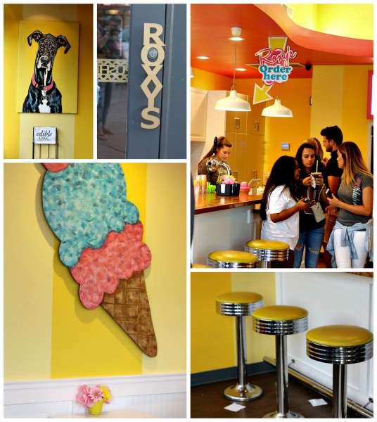 Roxys ice cream social interior oklahoma city OKC