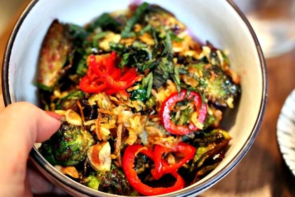 fried brussels sprouts goro ramen OKC