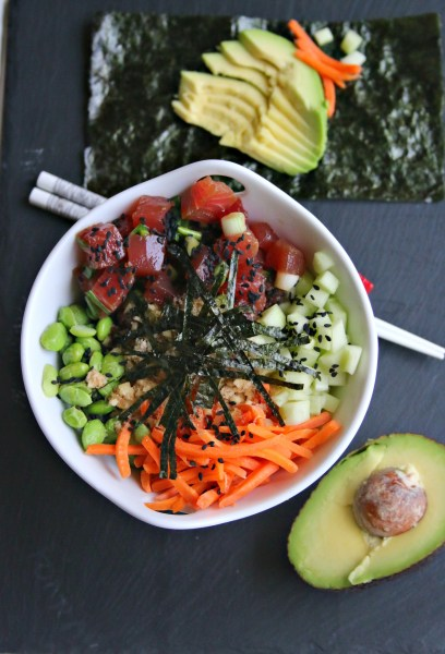 how to make poke bowl