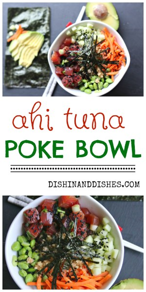 how to make a poke bowl