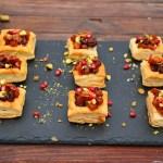 Autumn Butternut Bacon Mini Tarts