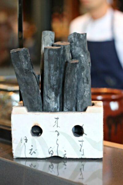 binchotan charcoal gun izakaya okc