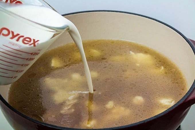 One Pot Easy Chicken Alfredo Recipe
