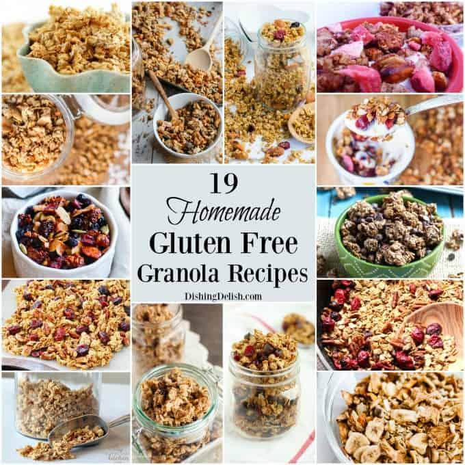 gluten free granola recipe