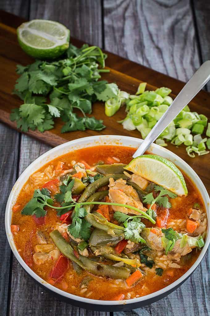 Coconut Chicken Curry with Vegetables 2