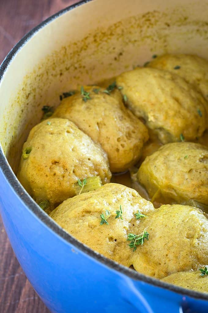 gluten free chicken and dumplings