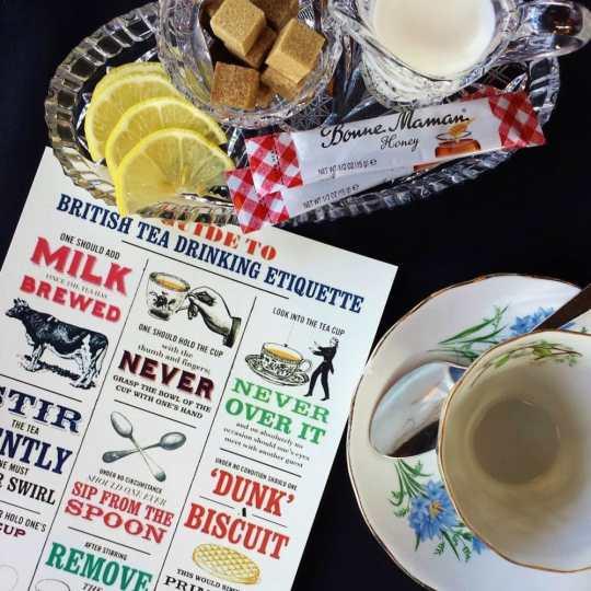 Exceptional High Tea Service at Brasserie Kensington in Calgary, Alberta #HighTea #TeaService #RoyalTea #BrasserieKensington