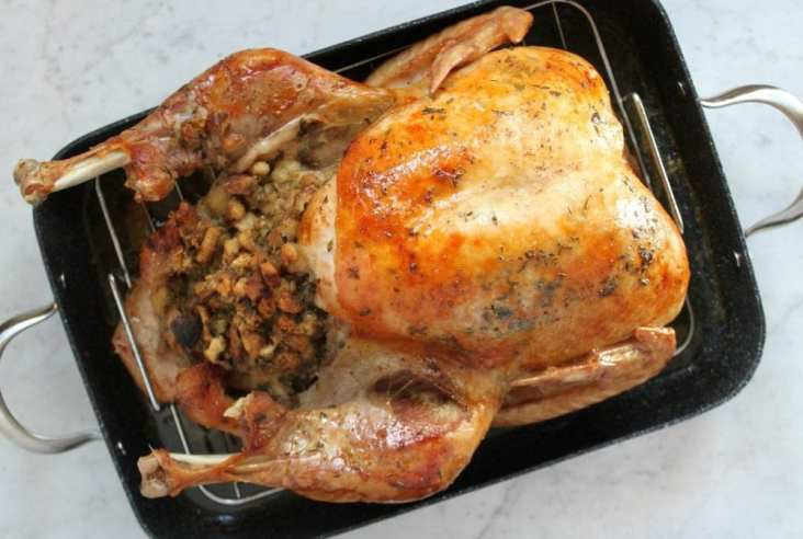 Have you been waffling upon the age old turkey question...to brine or not to brine? Have you been cooking your turkey using the same method since forever and a day? No more dry-ass turkeys! Here it is: The Best Ever Turkey Brine Recipe. #brine #turkeybrine #roastedturkey #turkeydinner
