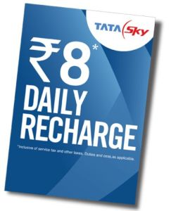 tata sky daily recharge