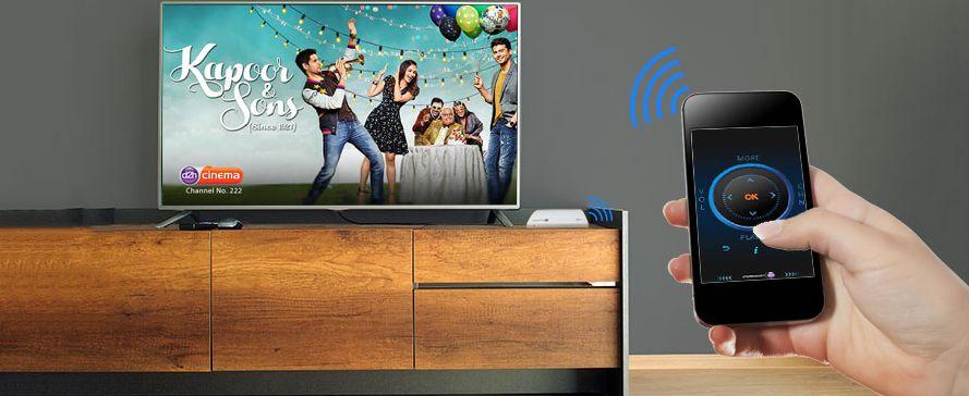 d2h smart remote app install