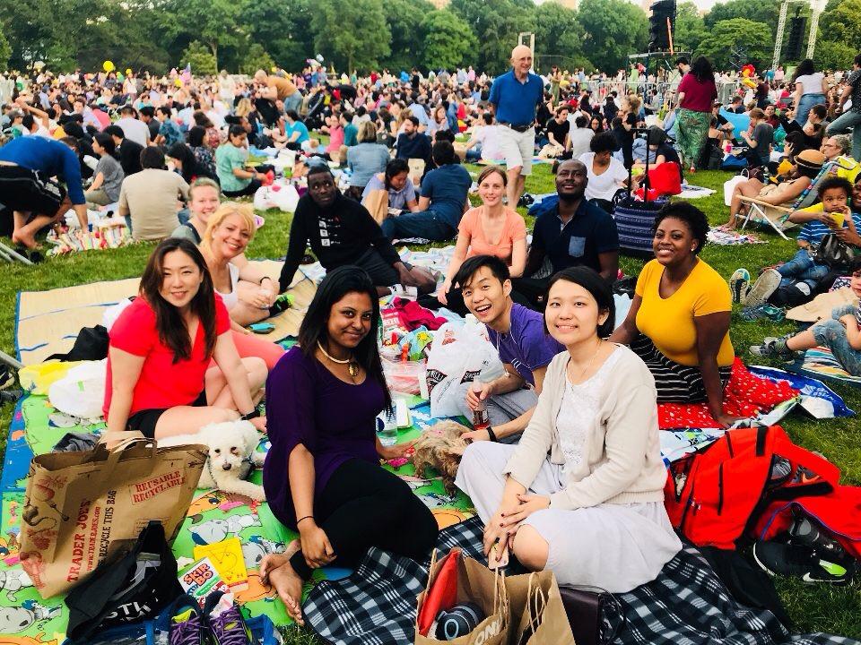 中央公園夏季交響樂
