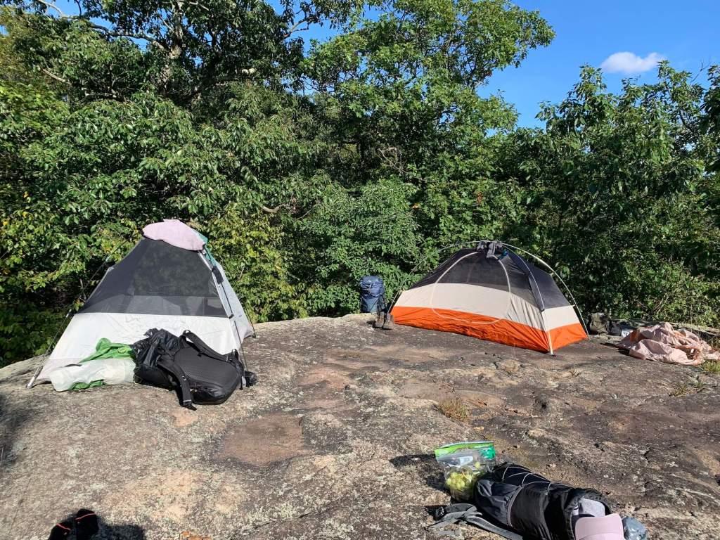Harriman State Park露營