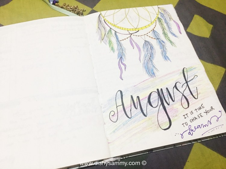 Bullet Journal Idea_Month Cover