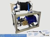 Hochdruckreiniger-Kaltwasser-Alu-Käfig-Mazzoni