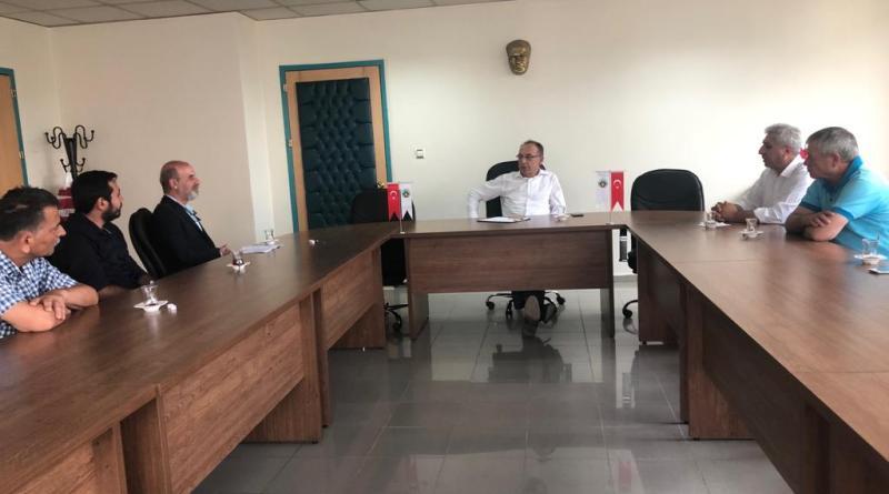 Turgutlu Belediye Başkanı Çetin Akın'ı ziyaret ettik