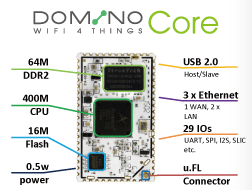 Domino IO - IoT enabler