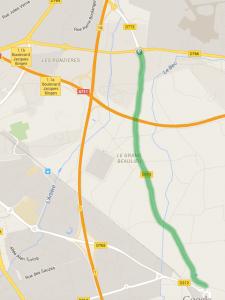 15-90km test road