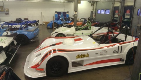 The latest MNR body on Malyon's car