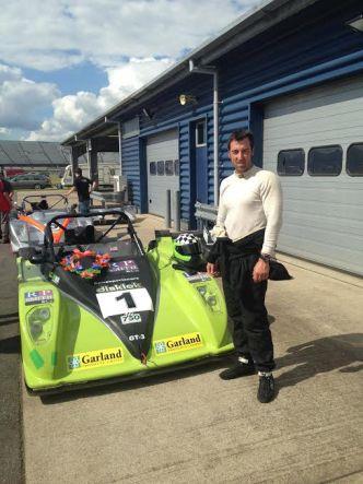 Matt Higginson - Winner of Race 2