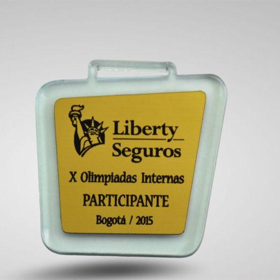 Medallas en bogota Liberty Seguros