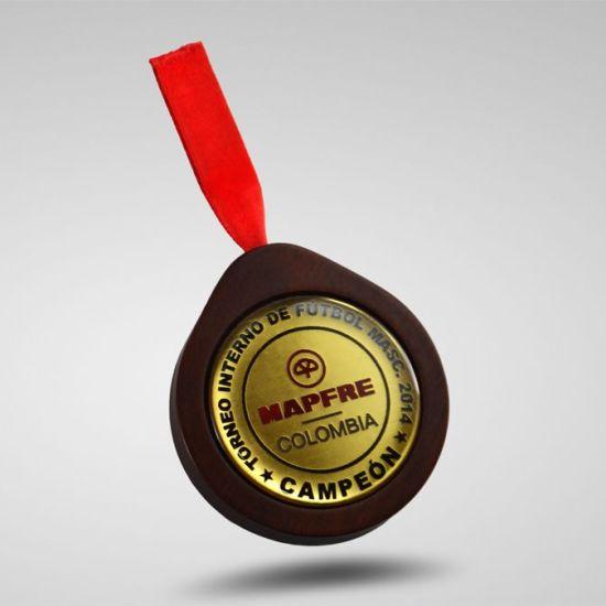 Medallas en Bogota Torneo Interno de Futbol