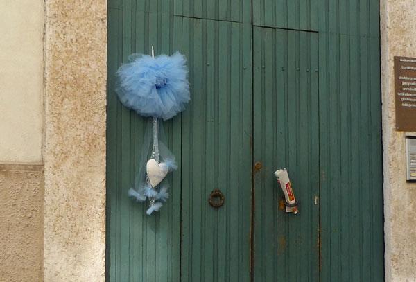 fiocco azzurro nascita