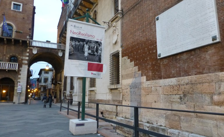 manifesto mostra fotografia neorealismo scavi scaligeri verona
