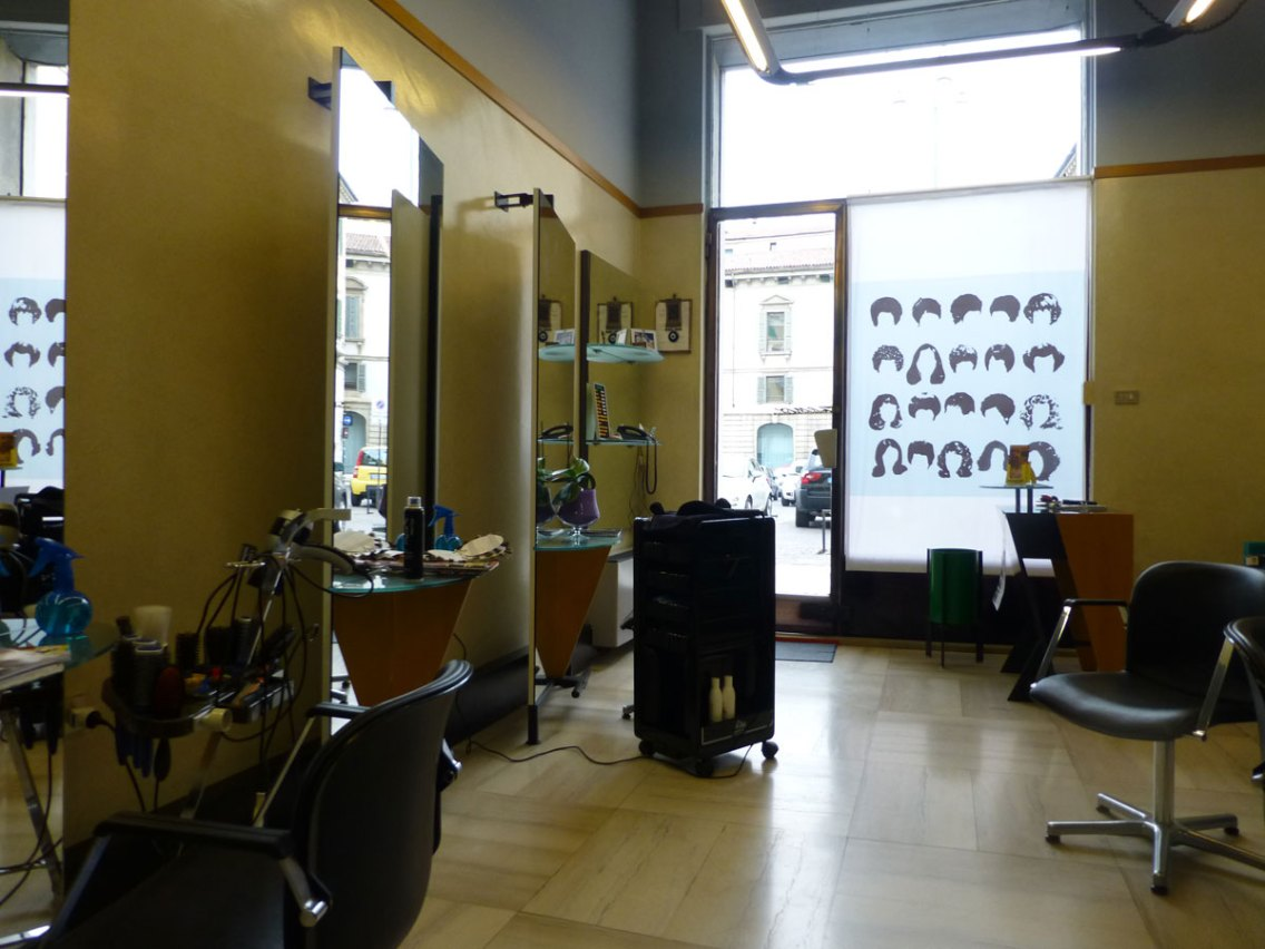 il salone - scheda accessibilità coiffeur zeno verona piazza nogara