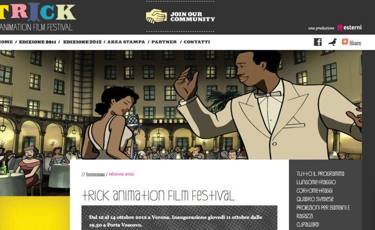 trick animation film festival verona 2012