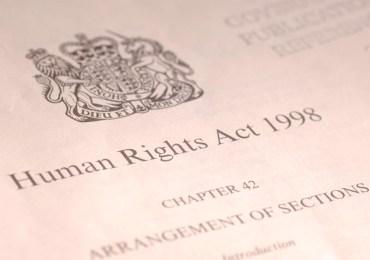 human rights act 1998 dichiarazione diritti umani