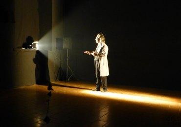 Corrado Accordini, L'idiota di Fedor Dostoevskij, Teatro Laboratorio, Verona, 1 dicembre 2012 - dismappa.it