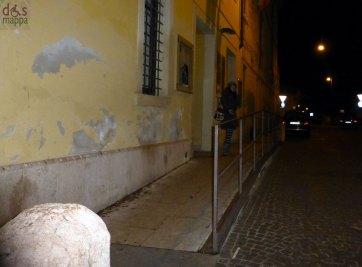 la rampa per accedere alla sede fevoss di santa toscana, verona